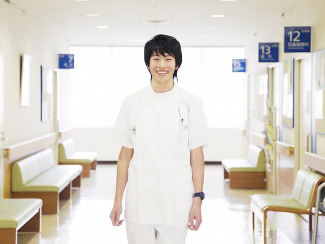 後期研修 男性医師